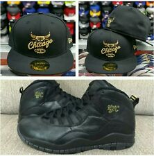 Matching New Era Chicago Bulls 5950 Fitted hat for Jordan 10 NYC