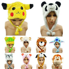 Cartoon Animal Hat Hot Sale Plush Cap Unisex Fluffy for Him or Her B