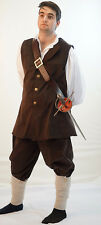 Victorian-Stage-Pirate-Mens-LARP-Cos-Play-WILL TURNER BUCCANEER All Sizes
