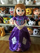 New Adult Size Sofia Sophia Princess Mascot Costume Elsa Costumes Fancy Dress