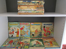 Various Rupert Annuals - 18 Books Collection! (ID:33562)