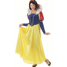 halloween costume women adult Princess snow white cosplay Lady fancy dress party