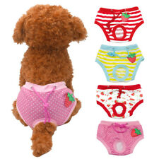 Soft Pet Dog Elastic Physiological Pants Shorts Dog Trousers Clothes 4 Colors