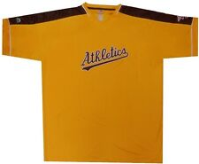 Oakland Athletics Cooperstown Majestic Mens Vintage Hit Jersey Big & Tall Sizes