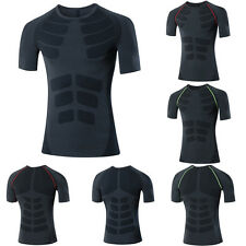 Men Sports Compression Base Layer Tops UnderWear Athletic Apparel Shirts Skin