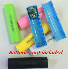 2600mAh Charger For All Phone USB Box Battery Power Bank 18650 Case Kit