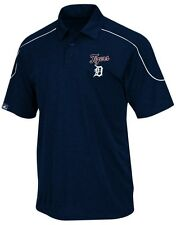 Detroit Tigers MLB Majestic Mens Run Down Synthetic Polo Shirt Big & Tall Sizes