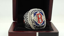 2004 Boston Red Sox world series championship ring 11s solid back