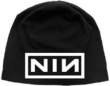 # NINE INCH NAILS - NIN LOGO - OFFICIAL JERSEY BEANIE HAT / SKI HAT