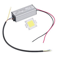 20W-100W Warm/Cool White LED Chip Bulb Light Waterproof LED Driver Power Supply~