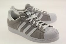 Adidas Men Superstar gray charcoal solid grey footwear white B49791