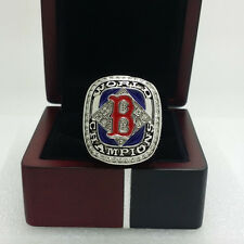 2004 Boston Red Sox World Series Championship Solid Alloy Ring 11Size+Box Gift