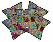 5pcs-100Pcs Embroidered Sequin Ethnic Patchwork Cushion Covers Wholesale Lot
