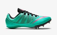 NEW Womens 7.5 8 9 NIKE ZOOM RIVAL S 7 Hyper Jade Turquoise Sprint Track Spikes