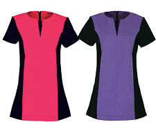 PREMIER BEAUTY AND SPA PANELLED TUNIC FOR SALONS, NAIL BARS, HEALTH & CARE, VETS