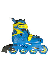 SEBA JUNIOR BLUE/YELLOW adjustable inline skates