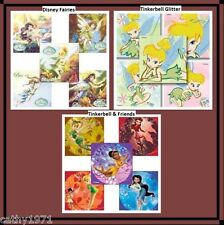 Lot of 10 Tinkerbell Stickers - Your choice of Glitter, Friends & Disney Fairies