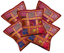 5pcs-100Pcs Embroidered Sequin Patchwork Work Cushion Covers Wholesale Lot