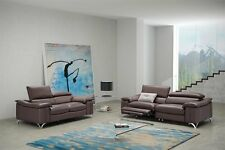 """New Leather recliner sofas 3 & 2 seater / recliner armchair """"LYON"""" FREE DELIVERY"""