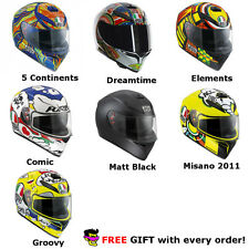AGV K-3 SV Full Face Racing Motorcycle Sportbike Professional Helmet S M L XL +