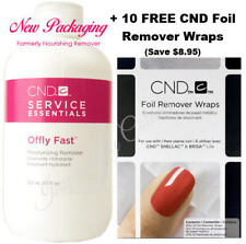 CND SHELLAC POWER POLISH Nourishing Remover + 10 FREE Foil Wraps **Save $8.95**