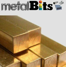Brass Square bar CZ121 (Various sizes available) Imperial