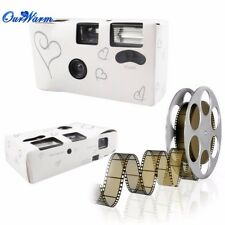 Love Heart Disposable Camera For Wedding Bridal Camera With Flash and 35mm Flim