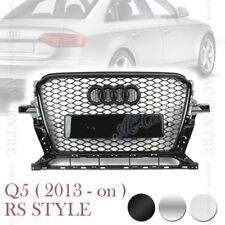 RS HONEYCOMB STYLE MESH FRONT HOOD GRILLE for AUDI Q5 2013-ON 3 VERSIONS
