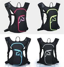 12L Outdoor Waterproof Cycling Bicycle Backpack Rucksack 600D