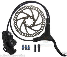 Disc Brakes Calipers Set Hydraulic Front Rear Pair 160mm Rotor MTB Bike Bicycle
