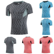 Men Sports Pro Camouflag T Shirts Athletic Apparel Compression Fitness Yoga Tops