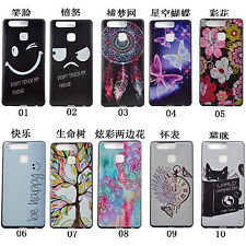 10pcs/lot Fashion Animal Butterfly Flower Mixed TPU Soft Case for Huawei