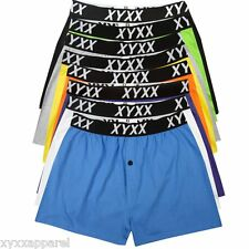 8 x MIXED COLOUR 8 PACK MENS BOXER SHORTS UNDERWEAR ALL SIZES AVAILABLE S XXL %]