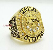 Kobe Bryant 20 Years Los Angeles Lakers Career Basketball Ring Back Solid Gift