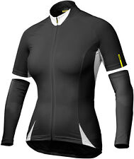 MAVIC AKSIUM WOMENS BIKE JERSEY BLACK 2016