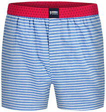 Happy Shorts Boxer Shorts stripes - 100% Cotton / Jersey inner brief (S-XXL)