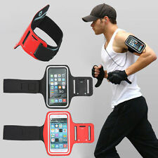 Adjustable Sport Running Jogging Gym Armband Holder For Galaxy S6 S7 Edge + Plus