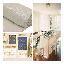 TRLYC Sequin Sparkly Beige Wedding Tablelcoth ,More Colors and Sizes Available