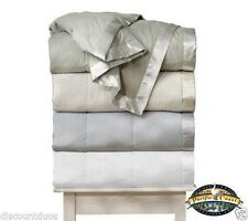 Pacific Coast®  Down Blanket Light Warmth Satin Trim  230 Thread Count All Sizes