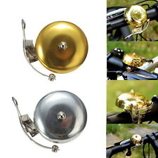 New Cycle Push Ride Bike Loud Sound One Touch Bell Retro Bicycle Handlebar 3C