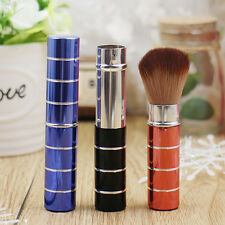 New Professionals Makeup Metal Retractable Cosmetic Brush Blush Hot Fashion Gift