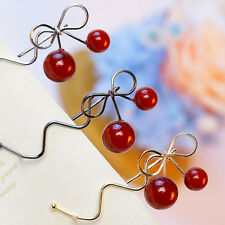 NEW Women Lady Cute Girls Cherry Jewelry Barrette HairClip Hairpin Accessories
