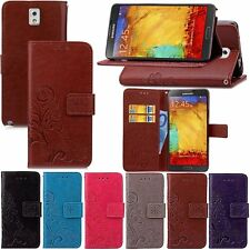 Luxury Flip PU Leather Wallet Case Cover For Samsung Galaxy Note 3 N9000