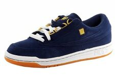 Fila Men's Original Tennis Navy/White/Gold Fashion Suede Sneakers Shoes