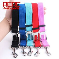 Pet Car Vehicle Seat Belt Safety Seatbelt Harness Leash Lead Dog Cat Adjustable