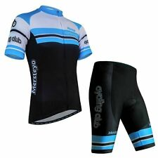 Men's Bike Cycling Wear Jersey Comfortable Bike Bicycle jersey Padded Short BLUE