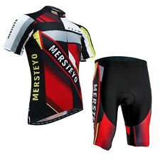 Men's Bike Cycling Clothing Wear Comfortable Bicycle Sport jersey Padded Shorts