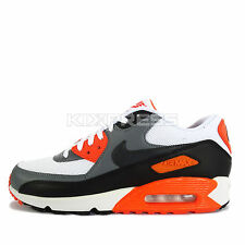 Nike Air Max 90 Essential [537384-128] NSW Running White/Cool Grey-Orange-Black