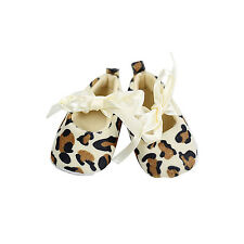 Baby Girl Toddler Leopard Soft Sole Walking Shoes Newborn (0-6 month) WS