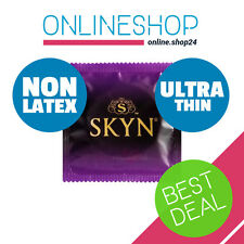 SKYN ELITE ULTRA THIN NON LATEX CONDOMS Polyisoprene Lifestyles Mates 1 - 144pcs